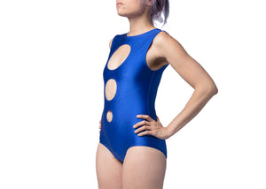 Concentric Swimsuit in Ocean Shimmer