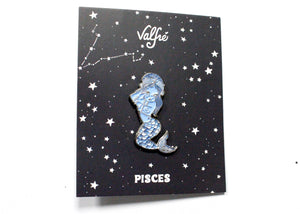 Pisces Girl Enamel Pin