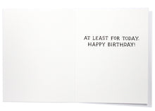 The Throne Is Yours Birthday Card