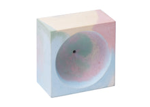 Square Incense Holder in Jawbreaker Marble