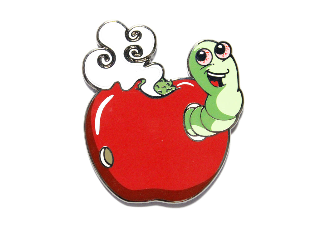 420 Apple Pipe Enamel Pin