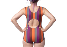 Concentric Swimsuit in Barracuda Stripe
