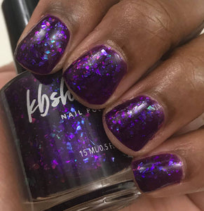 On Cloud Wine Nail Polish