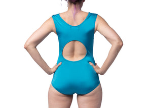 Concentric Swimsuit in Cerulean Shimmer