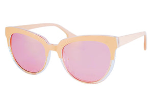 Above Sunglasses in Peach
