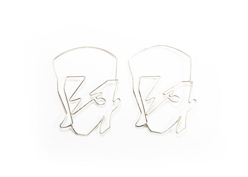 Aladdin Sane Hoop Earrings