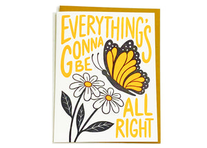 Everything's Gonna Be Alright Card