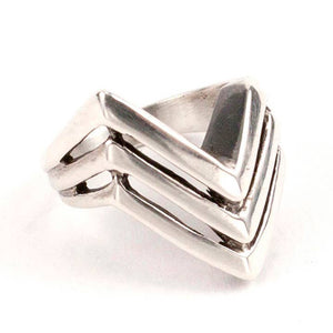 Apex Ring in Sterling Silver