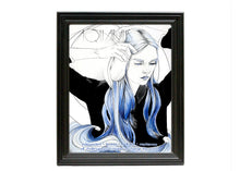 Aquarius Watercolor Print