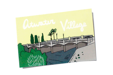 Atwater Village Postcard