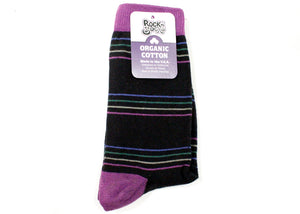Bertha Crew Socks In Ebony