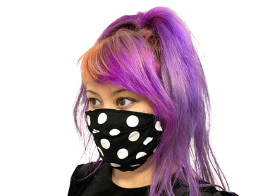 Big Polka Dots Reversible Face Mask