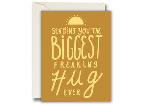 Biggest Freaking Hug Card