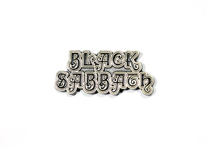 Black Sabbath First Logo Enamel Pin