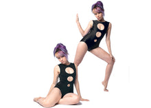 Concentric Swimsuit in Black