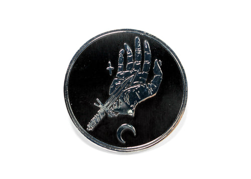 Blood Oath Enamel Pin