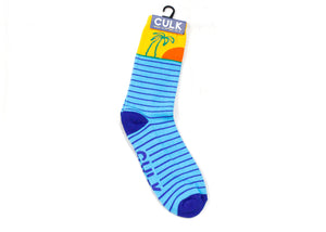 Beach Socks In Blue