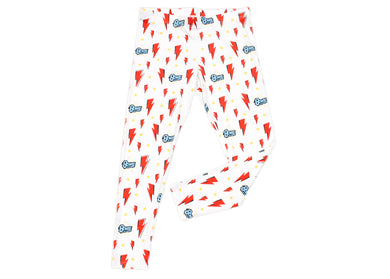 Bowie Bolt Logo Kids Leggings