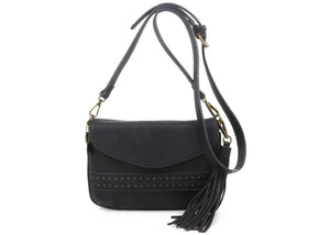 The Audry Crossbody in Black