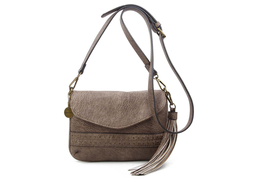 The Audry Crossbody in Stone