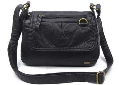 The Willma Crossbody Bag in Black