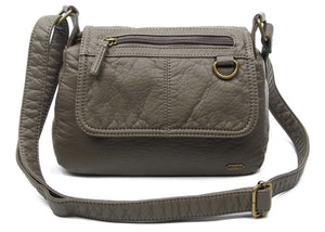 The Willma Crossbody Bag in Dark Grey