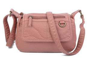 The Willma Crossbody Bag in Peach