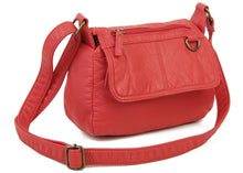 The Willma Crossbody Bag in Poppy Red