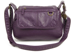 The Willma Crossbody Bag in Purple