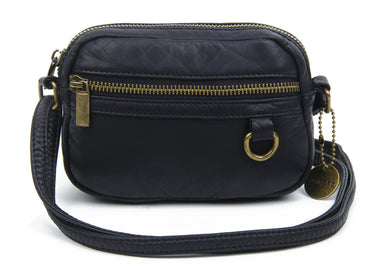 The Caroline Mini Crossbody Bag in Black