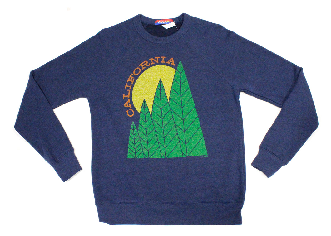 California Tree Sun Sweatshirt