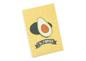 California Avocado Postcard