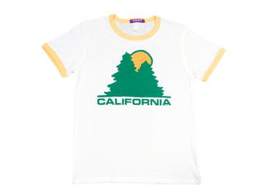 California Lumber Supply Ringer Tee