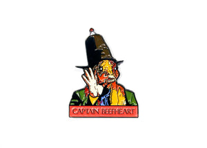 Captain Beefheart Trout Mask Replica Enamel Pin