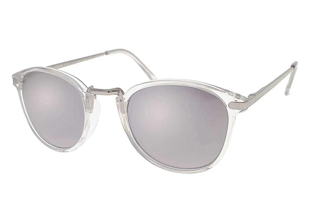 Castro Sunglasses in Crystal Clear