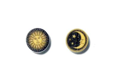 Celestial Sun & Moon Earrings