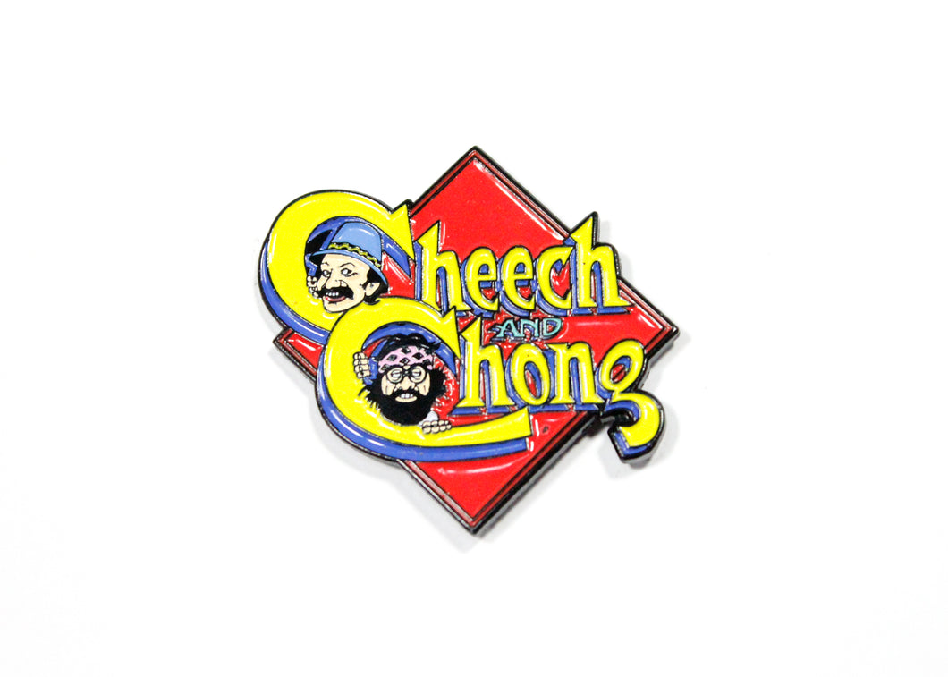 Cheech & Chong Enamel Pin