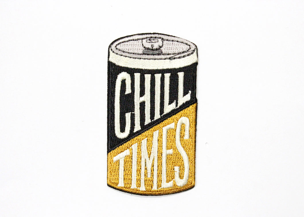 Vintage Beer Can Iron-On Patch