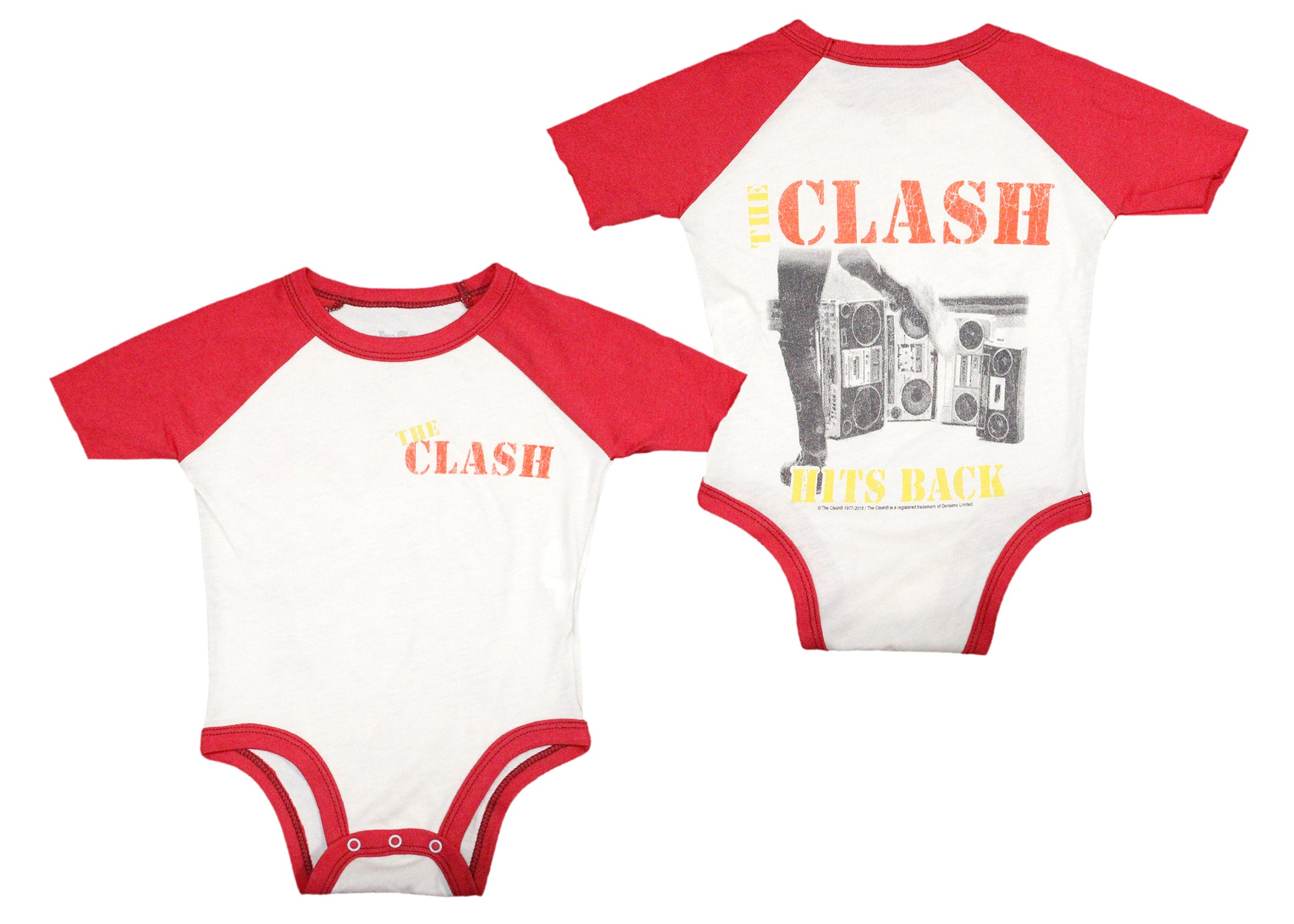 99170170d The Clash Hits Back Baby Onesie – Spacedust