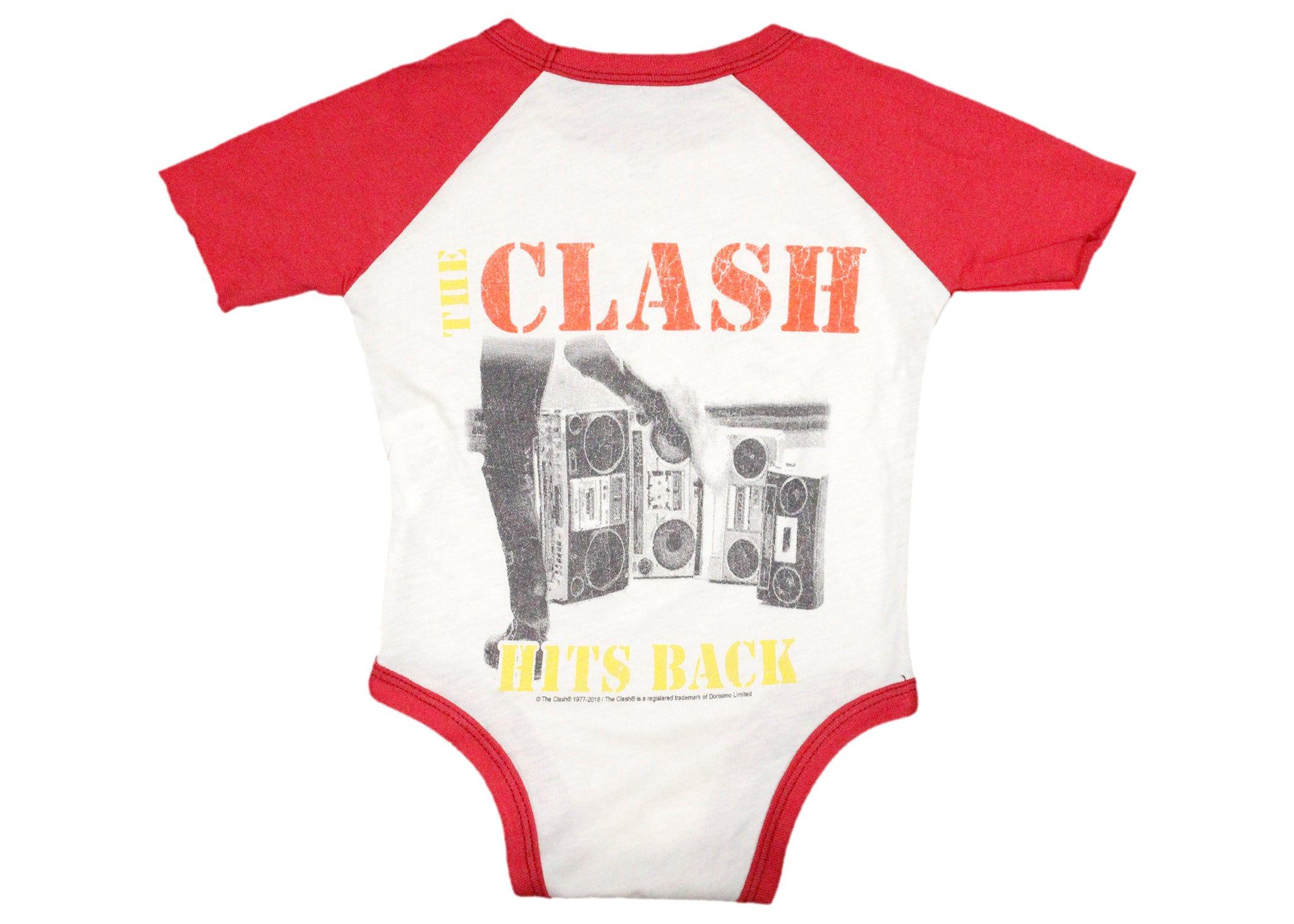 b856a9891 The Clash Hits Back Baby Onesie – Spacedust