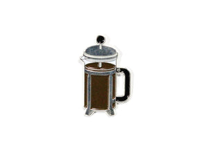Coffee Press Enamel Pin