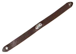 Leather Concho Choker