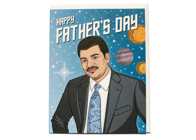 Best Dad In The Cosmos Card