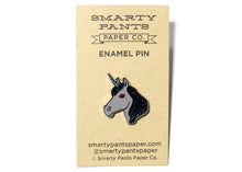 Dark Unicorn Enamel Pin
