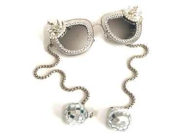 Disco Chateau Sunglasses with Swarovski Crystals & Mirror Balls