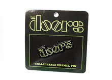 The Doors Yellow Logo Enamel Pin