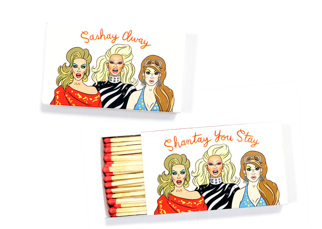 Drag Queens Jumbo Match Box