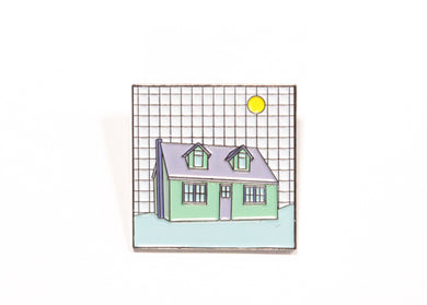 Dwellings Enamel Pin