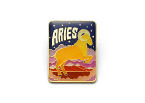 Aries Enamel Pin