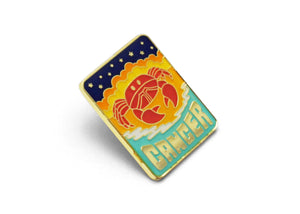 Cancer Enamel Pin